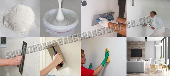 HPMC For Wall Putty Powder